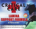 CriticalCare <br>Founder/Laminitis Formula <br>New 4X Formula! <br>(2.64 Pound) 40-Day Supply